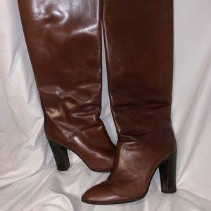 YVES SAINT LAURENT Vintage Leather Boots